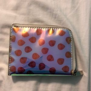Urban Outfitters Alien holographic wallet